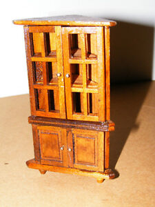 Wooden Doll Furinture - Cornor Hutch