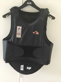 Horse riding back protector