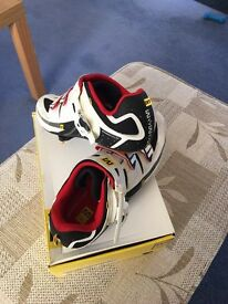 Mavic Avenir white/bright red/black Size 9UK