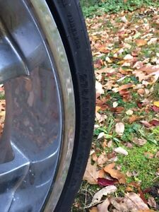 """24"""" rims with tires for 2007-2016 gm truck 1500 Kingston Kingston Area image 3"""