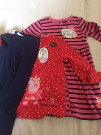 BRAND NEW PEPPA PIG CLOTHES