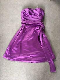 Satin dress / Bridesmaid dress Size 6-8