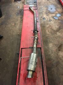 NISSAN 200sx sr20det full 3inch exhaust back box is custom titanium super light