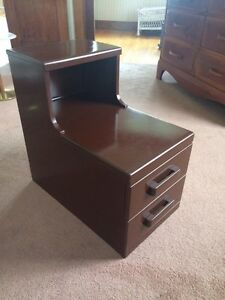 Vintage Solid Maple Nightstand London Ontario image 1