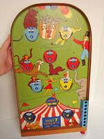 Vintage Poosh-M-Up Pinball Game