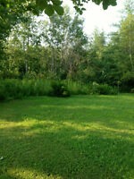 NEW PRICE! LARGE LOT IN BOUCTOUCHE CLOSE TO BOUCTOUCHE BAY!