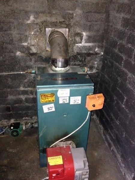 SOLD SOLD **** Home Heating Oil Burner and Boiler ***** SOLD SOLD ...
