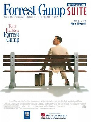 Forrest Gump Suite Sheet Music Easy Piano Solo NEW A Silvestri 000349001 - Forrest Gump Suit