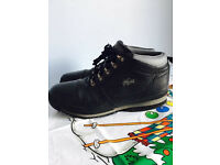 Lacoste men's leather boots,costs £155,size UK 9,bargain £45,no offers or time wasters please