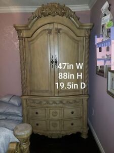3 Piece Bedroom Set Bought From Ashley's Furniture Store