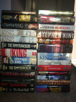 SALE!! Stephen King Hard Cover ALL 1ST/1ST Lot of 26 Books