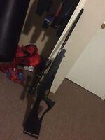 Price reduced (Pellet gun) .22. Caliber Benjamin nitro piston