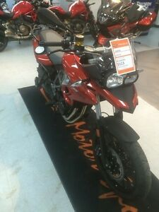 2016 BMW F700GS Sakhir Orange Metallic