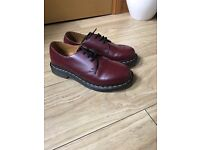 Dr Marten Cherry Red Shoes - Size 6