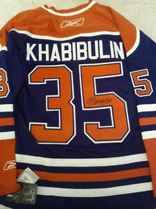 AUTOGRAPHED JERSEY MYSTERY BAGS WITH 2 SIGNED JERSEYS Edmonton Edmonton Area image 1