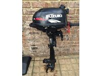 2006 Suzuki 2.5hp fourstroke outboard