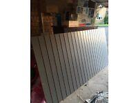 Slat wall board
