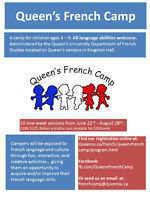 Queen's French Camp - Summer Day Camp