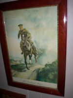 "WW1 CANADIAN 1917""THE DISPATCH RIDER"""
