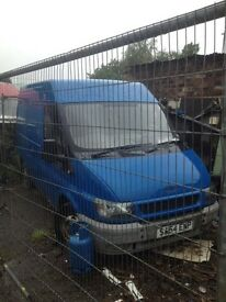 Transit FWD 54 plate breaking for spares