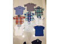 Boys designer Ted Baker shirts/tops