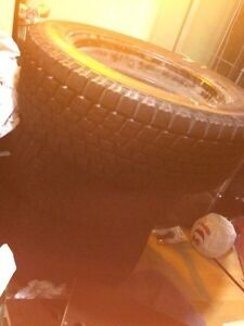 Winter Tires 215/55R17 BARELY USED