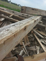 Wood (need gone) must pick up