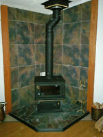 FOR SALE:  FLAME WOOD STOVE