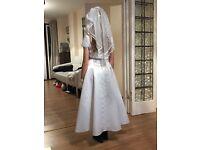 Girls linzi jay bridesmaid dress set 8-9 yrs