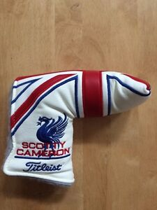 New Scotty Cameron Union Jack putter headcover