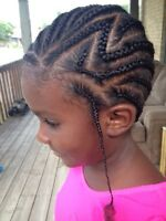 Braids, weaves and extensions
