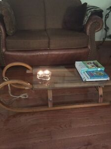 Re-purposed Sled Table