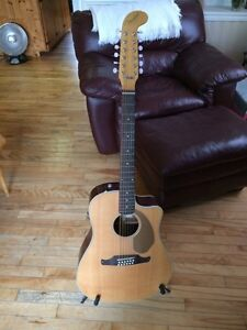 Fender Villager SCE Solid Top 12-String Acoustic-Electric