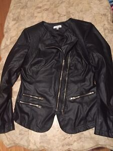 Ladies faux leather jacket Peterborough Peterborough Area image 2