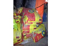 25 bags postmix concrete gardening fencing