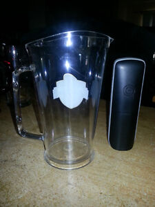 BRAND NEW MGD GRIDIRON MINI BEER PITCHERS.  MINT!!!!!!!!!! London Ontario image 2