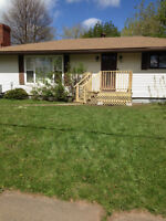 BEAUTIFUL 3 BEDROOM BUNGALOW NEW WEST END, JUNE 15 or JULY 1