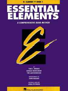 Essential Elements for B♭ Clarinet, Book One