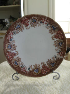 DECORATIVE OLD VINTAGE ENGLISH-MADE 9-INCH CHINA PLATE