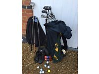 Full set golf clubs – and MUCH more