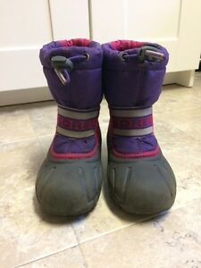 Girls Sorel's Size 10 Cambridge Kitchener Area image 1