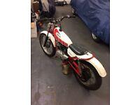 Yamaha. Trials bike