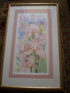 "Mary Dawn Roberts "" Velvet Petals "" Limited Edition Print Kitchener / Waterloo Kitchener Area image 2"