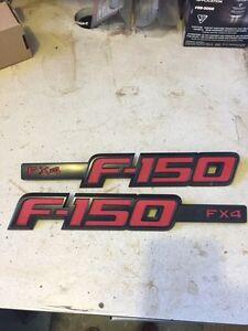 Ford F-150 09-14 FX4 Fender Emblems