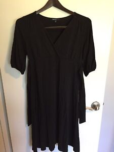 Black Maternity Dress from the Gap, Size XS