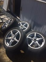 17 inch OZ rims 5X112 bolt pattern