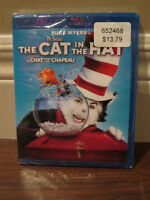 Dr. Seuss' The Cat in the Hat Blu-ray - BRAND NEW in PKG