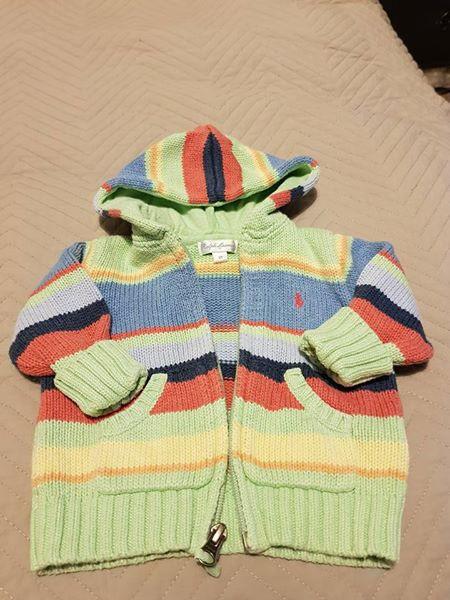 Ralph Lauren baby boy cardigan 3-6 m