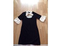 Black & Creme Dress