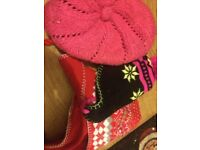 Selection of girls hats to suit 4-6 years